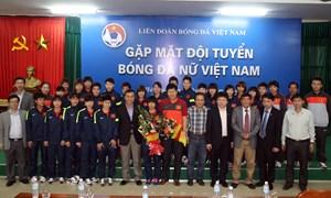 BIDV tài trợ cho Đội tuyển bóng đá nữ quốc gia