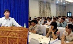 Bộ Tài chính tổ chức tập huấn chế độ chính sách trong đầu tư xây dựng và công nghệ thông tin
