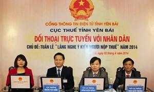 Yên Bái: Cải cách thủ tục hành chính nâng tầm quản lý thuế