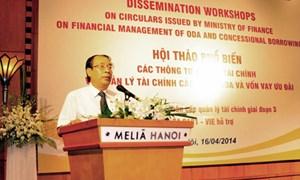 Phổ biến văn bản về  quản lý tài chính dự án ODA và vốn vay ưu đãi