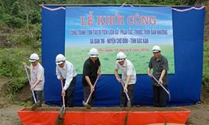 """Khởi công Di tích lịch sử """"Phja Tắc"""" - Nhà máy in tiền Bản Thi, Bắc Kạn"""