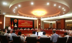Ban Kinh tế Trung ương làm việc với thành ủy Hải Phòng