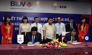 BIDV và EVN ký Thỏa thuận hợp tác toàn diện