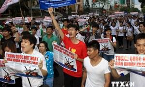 TP. Hồ Chí Minh triệu đại diện Tổng lãnh sự Trung Quốc tới để phản đối