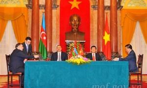 Việt Nam và Cộng hòa A-déc-bai-gian ký Hiệp định tránh đánh thuế hai lần