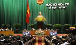 Quốc hội yêu cầu Trung Quốc rút giàn khoan Hải Dương 981 ra khỏi vùng biển của Việt Nam