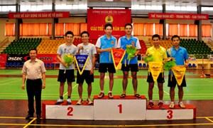 Giải thể thao Công đoàn Bộ Tài chính năm 2014 thành công tốt đẹp