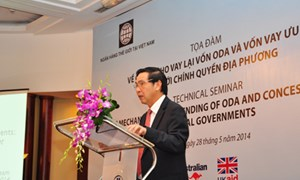 Hoàn thiện cơ chế cho vay lại vốn ODA và vốn vay ưu đãi đối với chính quyền địa phương