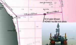 Cảnh giác với việc Trung Quốc mở rộng xâm lấn Biển Đông