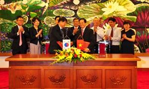 Ký Hiệp định vay vốn ODA trị giá 19 triệu USD cho Dự án Cung cấp thiết bị Bệnh viện Tai mũi họng Trung ương