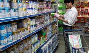 Áp dụng mức giá bán buôn tối đa đối với sản phẩm sữa từ ngày 11/6