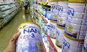 Cục Quản lý giá cung cấp giá bán lẻ các sản phẩm sữa
