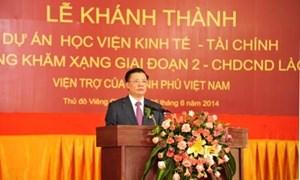 Đông Khăm Xạng - Chiếc nôi đào tạo, cung cấp nguồn nhân lực có chất lượng cao của CHDCND Lào