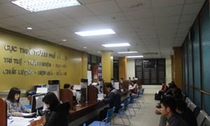 Hà Nội: 8 khu vực thu, sắc thuế đạt trên 50% dự toán