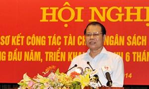 """Phó Thủ tướng Vũ Văn Ninh: """"Ngành Tài chính cần chủ động xây dựng phương án ứng phó trong tình hình mới"""""""