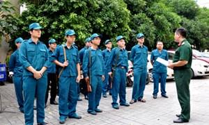 Triển khai huấn luyện lực lượng dân quân tự vệ Bộ Tài chính năm 2014