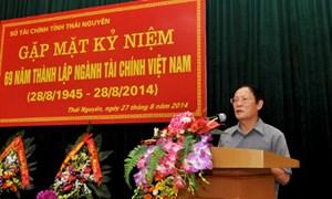 Sở Tài chính Thái Nguyên: Tổ chức gặp mặt ngày truyền thống ngành Tài chính Việt Nam