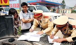 Tăng mức xử phạt nhiều hành vi vi phạm giao thông