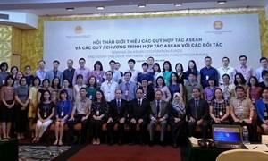Chủ động khai thác, sử dụng hiệu quả Quỹ hợp tác ASEAN
