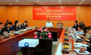 Ngành Thuế và những kết quả đạt được trong việc thực hiện Nghị quyết số 19/NQ-CP
