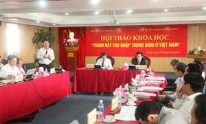 Các giải pháp giúp Việt Nam tránh bẫy thu nhập trung bình