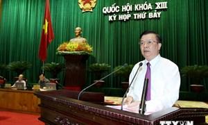 Bộ Tài chính trả lời chất vấn Đại biểu Quốc hội về nợ công và ngân sách nhà nước