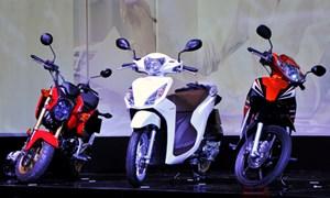 Loạt xe máy mới đến với người dùng Việt
