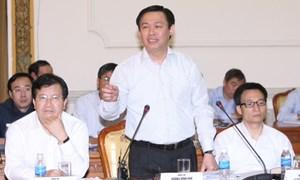 """Bộ trưởng Vương Đình Huệ:  Hỗ trợ """"phá băng"""" bất động sản, giảm tồn kho vật liệu xây dựng"""