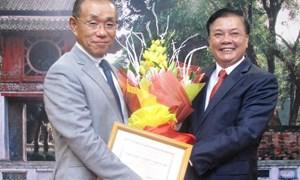 Bộ trưởng Đinh Tiến Dũng tiếp Đại sứ đặc mệnh toàn quyền Nhật Bản tại Việt Nam