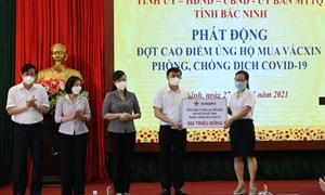 EVNNPC ủng hộ 1 tỷ đồng chung tay cùng Bắc Giang, Bắc Ninh phòng chống dịch Covid - 19