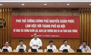 Người dân Thủ đô cùng vào cuộc đấu tranh chống buôn lậu