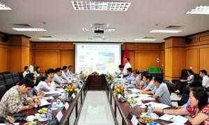Bộ trưởng Đinh Tiến Dũng làm việc với Viện Hàn lâm Khoa học và Công nghệ Việt Nam