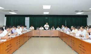 Bàn giải pháp thúc đẩy giải ngân nguồn vốn ngân sách nhà nước và trái phiếu chính phủ