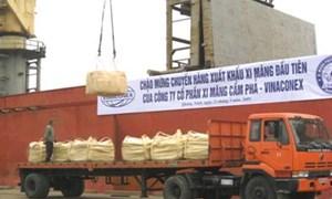 """Kế hoạch """"dài hơi"""" cho xuất khẩu xi măng"""