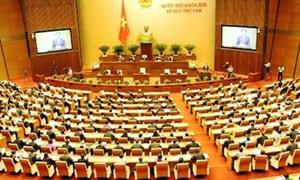 Khai mạc kỳ họp thứ 8, Quốc hội khóa XIII