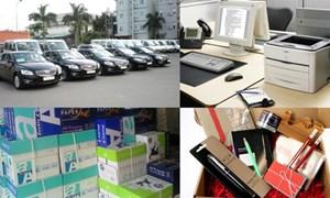 Mua sắm tập trung - Bước chuyển trong quản lý tài sản công