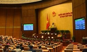Quốc hội thông qua 3 Luật do Bộ Tài chính chủ trì soạn thảo với số phiếu tán thành cao