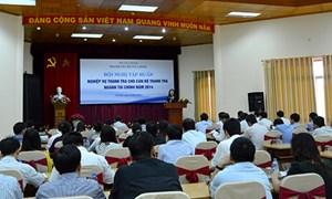Hội nghị tập huấn nghiệp vụ thanh tra tài chính năm 2014
