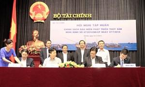 Bảo Việt đồng hành  cùng ngư dân bám biển