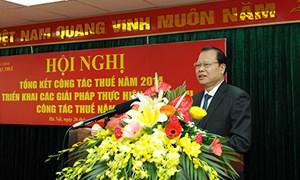 Phó Thủ tướng Vũ Văn Ninh: Tăng cường quản lý, thu hồi nợ đọng và chống thất thu thuế