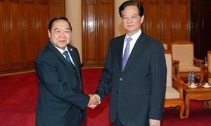 Thủ tướng Nguyễn Tấn Dũng Tiếp Đại tướng Prawit Wongsuwon
