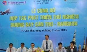 Vietravel phối hợp Thái VietJet Air mở đường bay Cần Thơ-Bangkok
