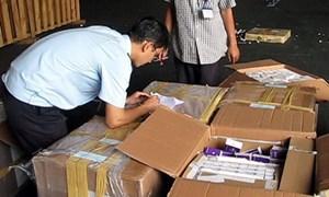 Hải quan Tân Sơn Nhất phát hiện 367.280 viên thuốc tân dược nhập lậu