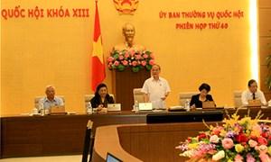 Ủy ban Thường vụ Quốc hội cho ý kiến Luật Kế toán và Phí lệ phí