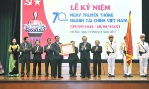 Ngành Tài chính đón nhận Huân chương Hồ Chí Minh