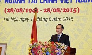 """Phó Thủ tướng Vũ Văn Ninh: """"Ngành Tài chính giúp khơi thông các nguồn lực quốc gia"""""""