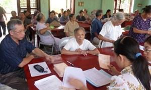 Nữ đủ 55 năm tuổi được hưởng quyền lợi bảo hiểm hưu trí
