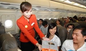 Hành khách được mua hàng miễn thuế trên chuyến bay đến Việt Nam