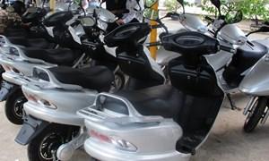 Miễn lệ phí trước bạ xe máy điện chưa đăng ký đến 30/6/2016