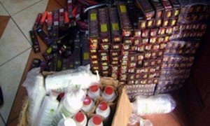 Bắt giữ hơn 700 sản phẩm mỹ phẩm nhập lậu